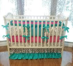 decoration paisley nursery bedding set modern baby cribs with girls