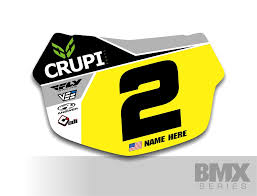 Design Your Own Bmx Plate Custom Number Plate Decals