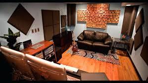 brown zebra rug cool studio interior design with brown single sofa and zebra rug above