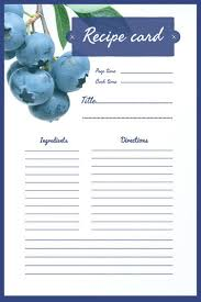 Recipe Cards Print Free Online Recipe Card Maker Adobe Spark