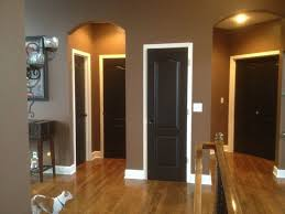 seriously thinking about doing thisblack doors with white trim black doors white trimthank u pinterest for the idea i luv my brown room pinterest walls