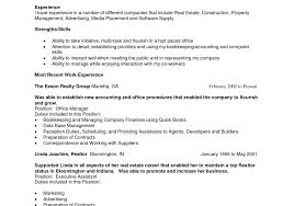 resume cover letter realtor resume example resume gorgeous sample resume exle of realtor resume real estaterealtor realtor resume example