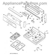 ge wb13k10003 top burner igniter appliancepartspros com part diagram