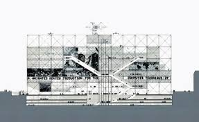 architecture drawing. Sketch To Skyline - What Richard Rogers And Renzo Piano\u0027s Pompidou Centre  In Paris Looked Like On Day One | Architecture Agenda Phaidon Architecture Drawing