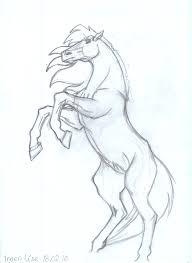 rearing horses drawings. Plain Rearing Rearing Horse By SneakingSniper  Intended Horses Drawings H