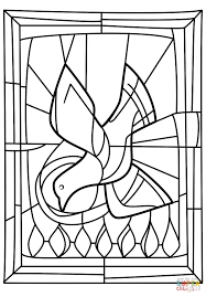 Pentecost Seven Gifts of the Holy Spirit coloring page | Free ...