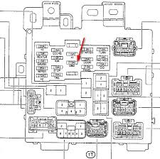 toyota camry fuse box diagram image details 1995 toyota camry fuse box diagram