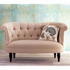 Velvet Love Seat | Tufted Loveseat | Small Love Seat