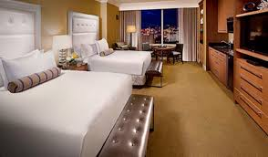 Vegas Hotel Suites 2 Bedrooms Model Decoration