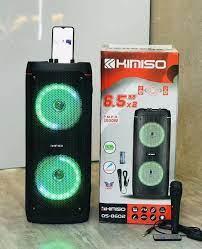 Loa Bluetooth Karaoke KIMISO QS-8602 (Bass đôi 6.5