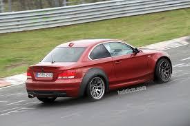 BMW 5 Series bmw m1 rear : BMW M1 test car spotted testing on Nurburgring!