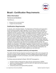Brazil Certification Requirements Pages 1 4 Text Version