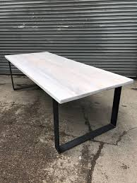 Solid Limed Oak Industrial Chic 8 10 Seater Dining Table Etsy
