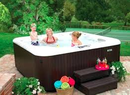 indoor pool and hot tub. Jacuzzi Pool Portable Hot Tub In The Garden Swimming Or Spa Filter Indoor And