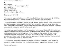 Medical Office Assistant Cover Letter Sample Cover Letter For Office