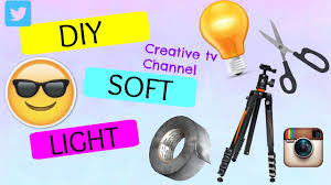 diy soft light creative tv channel