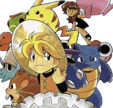 Image result for pokemon yellow manga