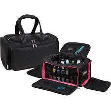 ultimate makeup artist nail polish travel bag black