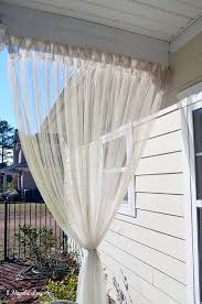 screened porch sheer curtains. Update On My \u0027DIY Screened Porch\u0027 Sheer Curtains\u201318 Months Later Porch Curtains