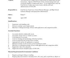 Best Resume Sample Objectives For Service Crew Pictures