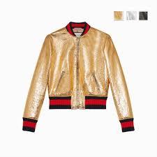 gucci le leather er jacket