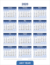 The blank calendars are simply calendars without holidays. Yearly Calendar Template For 2021 And Beyond