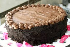 Homemade Birthday Chocolate Brownie Cake Recipe Snappy Gourmet