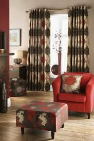 Red Decoration For Living Room Red Curtains For Living Room Large Italian Style Black Rectangle