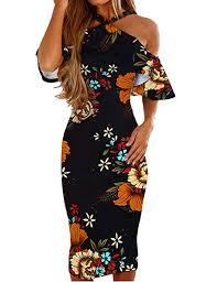 Murimia Womens Dresses Summer Off The Shoulder ... - Amazon.com