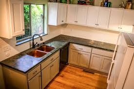soapstone counters for elegant kitchen design remarkable kitchen with double bowl copper sink and soapstone