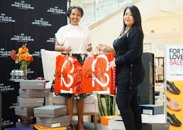 the event kicked off with a special shoe delivery from century 21 you guys know how much i adore designer shoes and century 21 is one my favorite spots to
