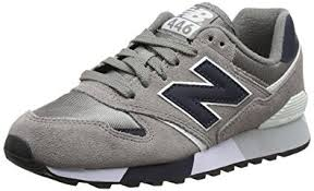 new balance 446. new balance unisex adults 446 80s running low-top sneakers, grey (light