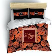 basketball bedding sets pleasing basket theme monogram bedding set duvet or comforter basketball full nba basketball