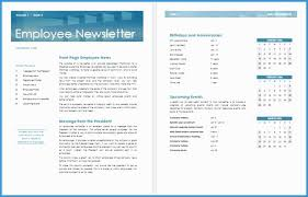 Employee Newsletter Templates Free Staff Newsletter Templates Free Prettier 13 Free Newsletter