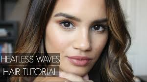 Heatless Waves with <b>Redken Beach Envy</b>! - YouTube