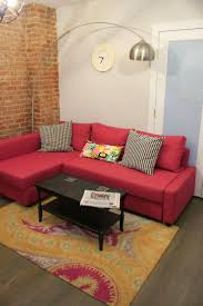 office couch ikea. home sweet apartment with ikea friheten sofa in deep pink fun rug from overstock office couch ikea