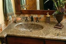 surprising one piece bathroom sink and countertop all in one sink and bathroom extraordinary one piece