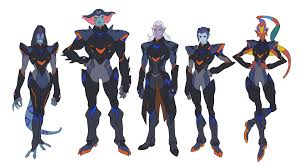 Voltron Legendary Defender Height Chart Voltron Reference Cygrus Ive Seen A Few Character Height