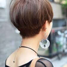 short straight haircut for asian women