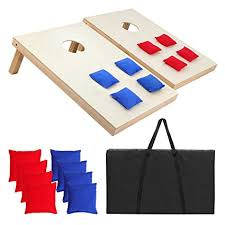 Wooden Bean Bag Toss Game Amazon Smartxchoices 100 by 100100 feet Solid Wood Bean Bag Toss 94