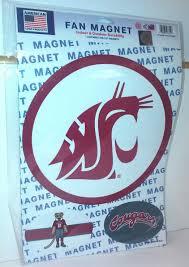 large magnet set wsu cougars logo