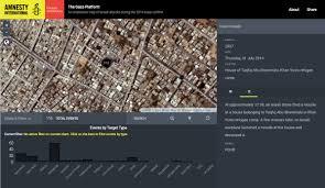 gaza geographical imaginations gaza platform intro screen