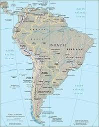 Южная Америка Википедия Комплексная карта Южной Америки