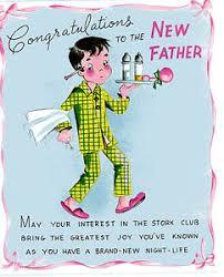 Vintage Original Unused Greeting Card New Baby Congratulations New