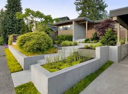 define concrete garden walls