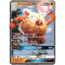 Primeape GX Custom Pokemon Card – ZabaTV