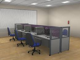 modern office cubicle. Download Interior Of The Modern Office Cubicle Stock Illustration - Empty, Modern: