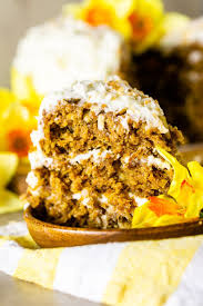 Homemade Carrot Cake With Coconut Cream Cheese Frosting Burrata