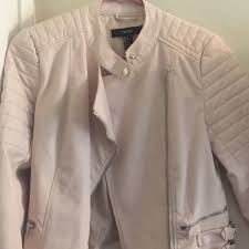 35 off forever 21 jackets blazers baby pink motorcycle jacket from kimberly s closet on poshmark