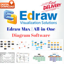 Details About Edraw Max 6 Diagrams Drawings Flowchart Organization Chart Software Full